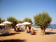 Beach at Grecotel Rhodos Royal