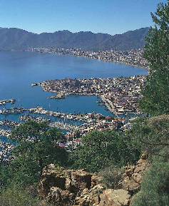 View over Marmaris