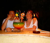 The famous fishbowls from Rhodes